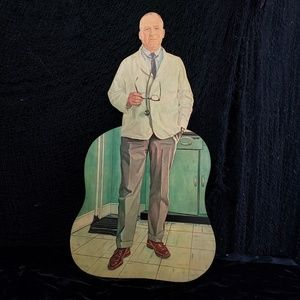 Vintage 1960s teaching prop of a doctor!